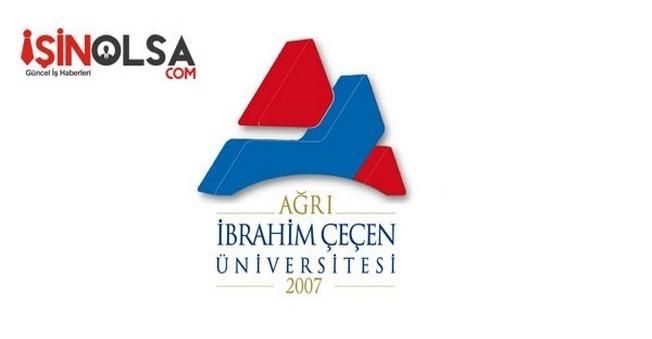 Ağrı İbrahim Çeçen Üniversitesi Öğretim Elemanı Alımı