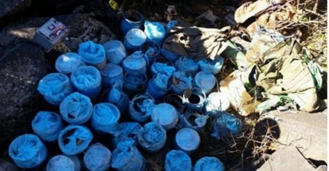 Ağrı'da 9 PKK  Sığınağı Yok Edildi