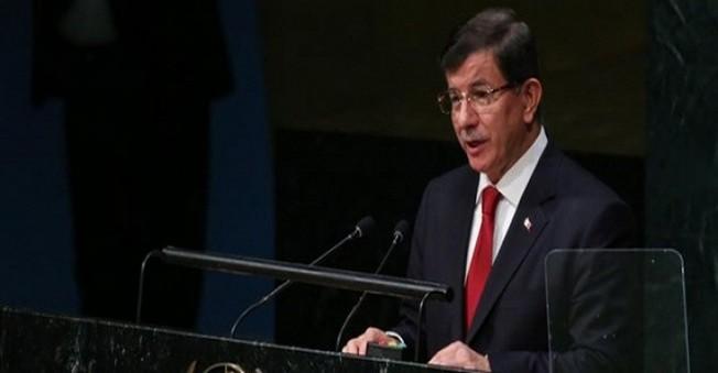 Ahmet Davutoğlu'dan Hain Paris Saldırısı Sonrası Açıklama Geldi