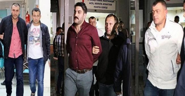 Ahmet Hakan'a saldıranlar 4 kişi  adliyeye sevk edildi