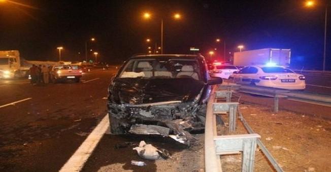 Ak Parti Milletvekili Fakıbaba, Trafik kazası Geçirdi