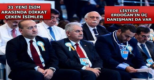 Ak Parti'nin Yeni MKYK'sı belli oldu.
