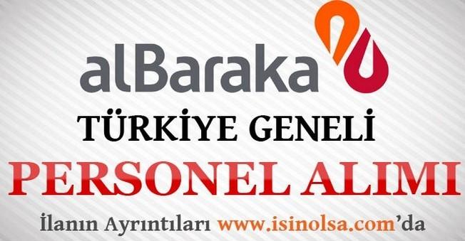 Albaraka Türkiye Geneli Personel Alımı