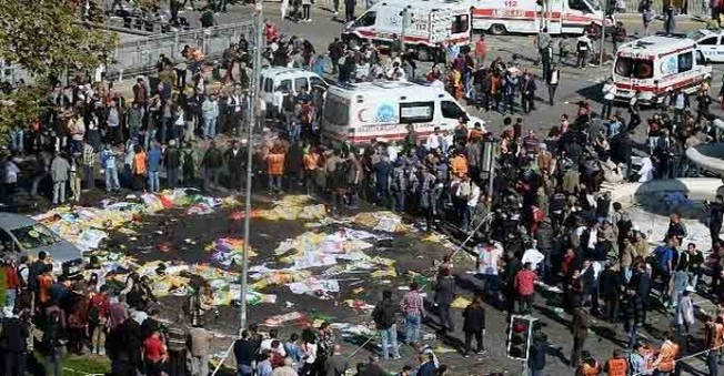 Ankara Patlamasının İlk Görüntüleri Yayınlandı!