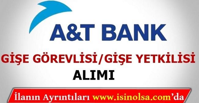 Arap Türk Bankası Gişe Görevlisi Alımı