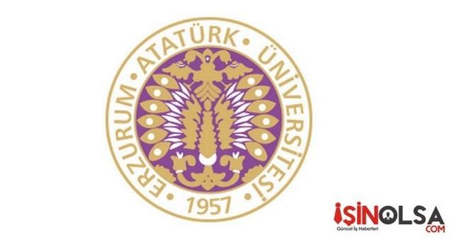Atatürk Üniversitesi Öğretim Elemanı Alımı