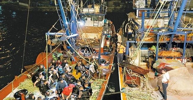 Av Sezonu Som Buldu Tekneler Balıkla Doldu!
