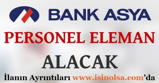 Bank Asya Personel Alımları