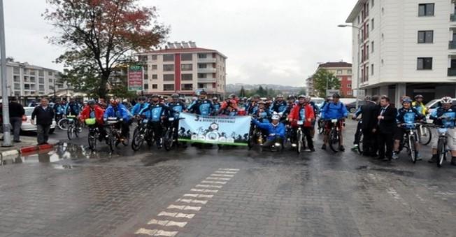 Bartın'da Bisiklet Festivali Başladı