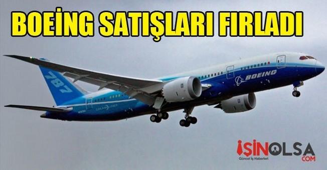 Boeing Satışları Fırladı