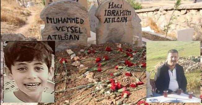 Bombalı Saldırı Kurbanı Baba, Oğul Yan Yana Gömüldü!