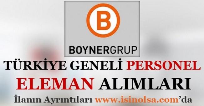Boyner Grup Personel Eleman Alımı