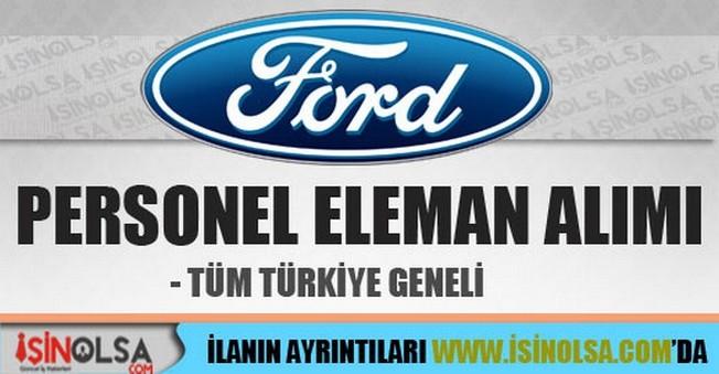 Ford Personel Eleman Alımları İş İlanları