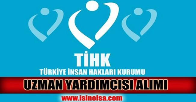 İnsan Hakları Kurumu Uzman Yardımcısı Alımı 2014