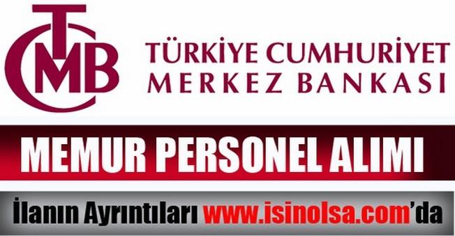 Merkez Bankası Denetçi Yardımcısı Alımı