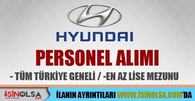 Hyundai Personel Alımları