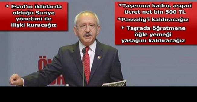 CHP Yayınladığı Seçim Bildirgesiyle Çok Konuşulacak!