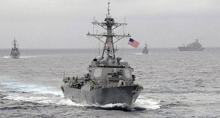 Çinliler ABD'yi Savaş Gemileri Konusunda Uyardı
