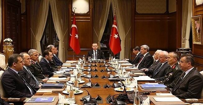 Cumhurbaşkanı Erdoğan başkanlığında,Güvenlik Toplantısı gerçekleştirildi
