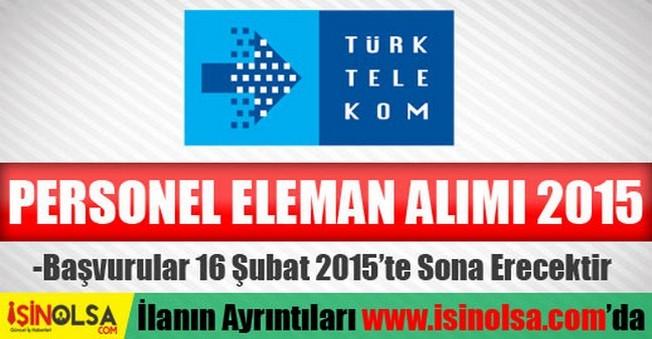Türk Telekom Eleman Alımı 2015