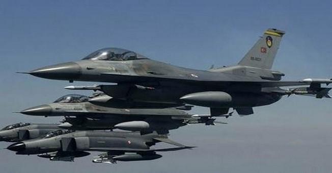 Dağlıca'da Hava Operasyonları 12 Hedefi Vurdu