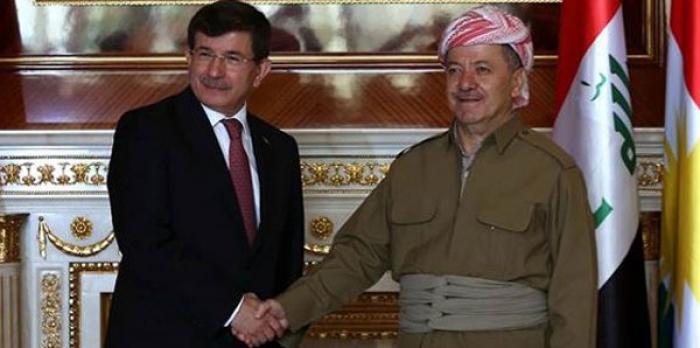 Davutoğlu'dan Barzani'ye İŞİD Telefonu