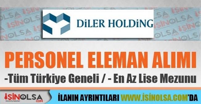 Diler Holding Personel Alımları