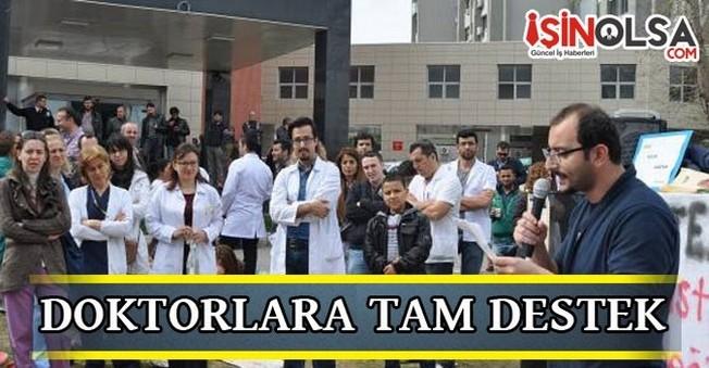 Doktorların Eylemine Sağlık Bakanı'ndan Tam Destek Geldi