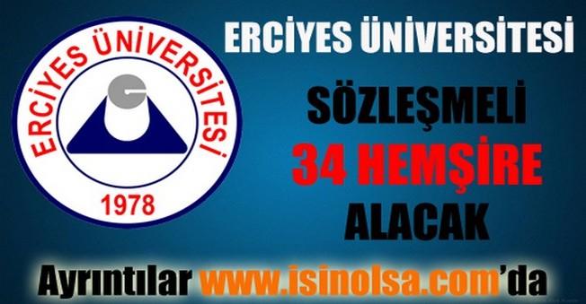 Erciyes Üniversitesi Sözleşmeli Personel Alımı