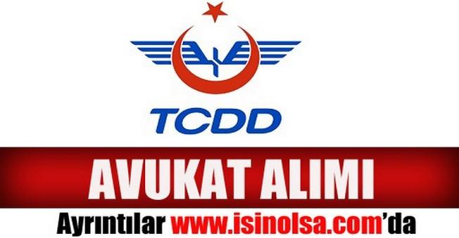 TCDD Avukat Alımı