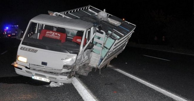 Elazığ'da Feci Kaza! 1 Ölü 4 Yaralı