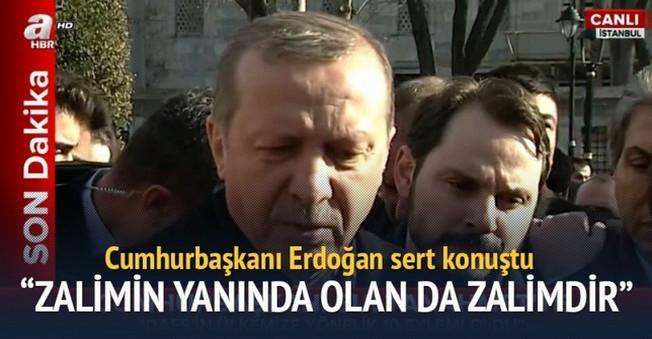 Erdoğan'dan O Akademisyenlere Ağır İthamlar!