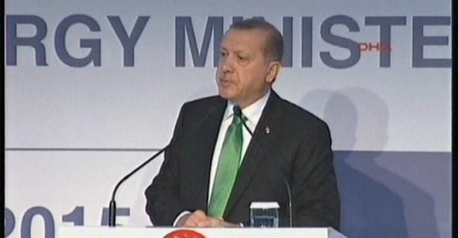 Erdoğan,G20 Enerji Bakanları Toplantısında Konuştu