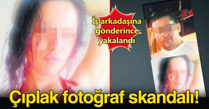 Eşinin Çıplak Fotoğraflarını Arkadaşına Gönderince Olanlar Oldu!