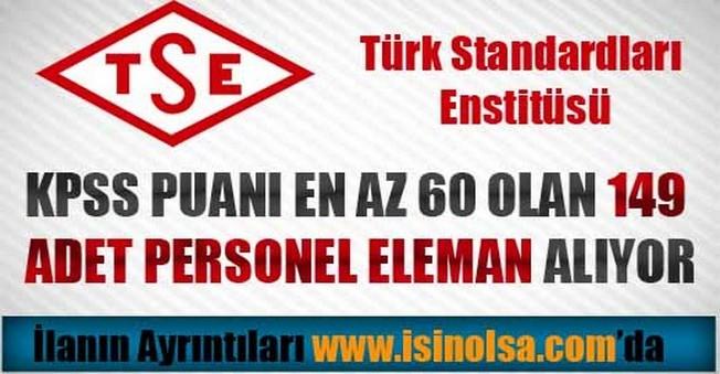 TSE Personel Alımı