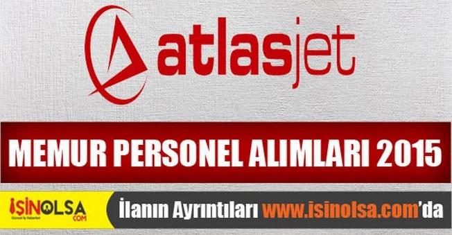 Atlasjet Memur Personel Alımları 2015