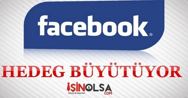 Facebook Hedef Büyüttü