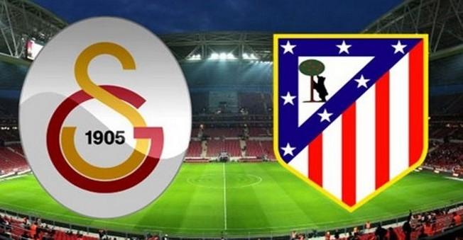 Galatasaray-Atletico Madrid maçı  saat kaçta hangi kanal da?