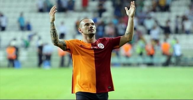 Galatasaray Wesley Sneijder İle 3 Yıllık Sözleşme İmzalayacak