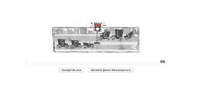 Google, İlk Trafik Lambasını Doodle Yaptı