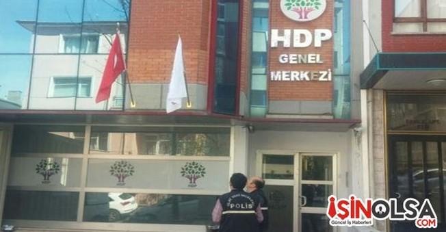 HDP Binasına Saldırı Hakkında Açıklama Yapıldı