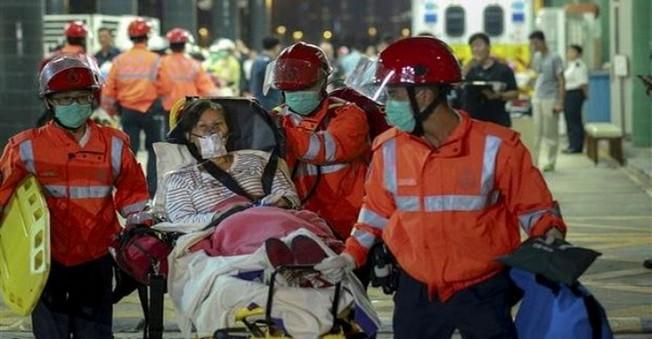 Hızlı feribot kazasında 124 kişi yaralandı