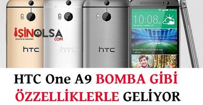 HTC One A9 Teknoloji Dünyasını Karıştırdı!