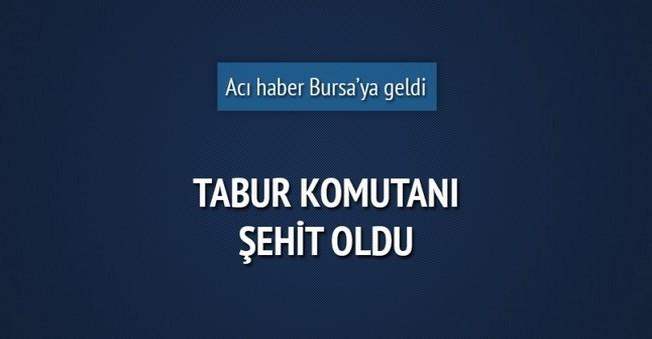 İlk ŞEHİT Acısı Bursa'ya Düştü