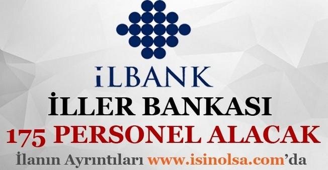 İller Bankası 175 Personel Alacak