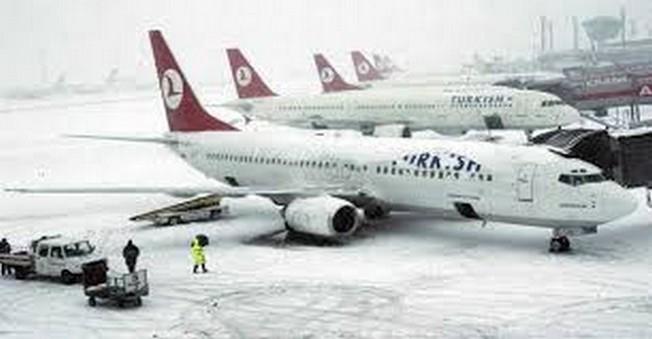 İstanbul'da Uçuşlar İptal oldu!