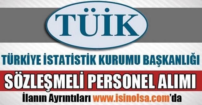 İstatistik Kurumu Sözleşmeli Personel Alımı