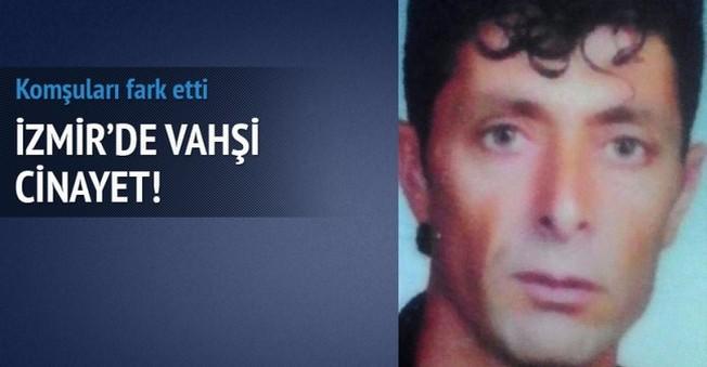 İzmir'de Vahşi Cinayet!Boğazı Kesilmiş Halde Bulundu