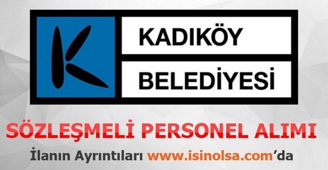 Kadıköy Belediyesi Sözleşmeli Personel Alımı 2015