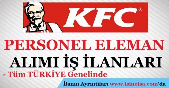 KFC Personel Eleman Alımı İş İlanları